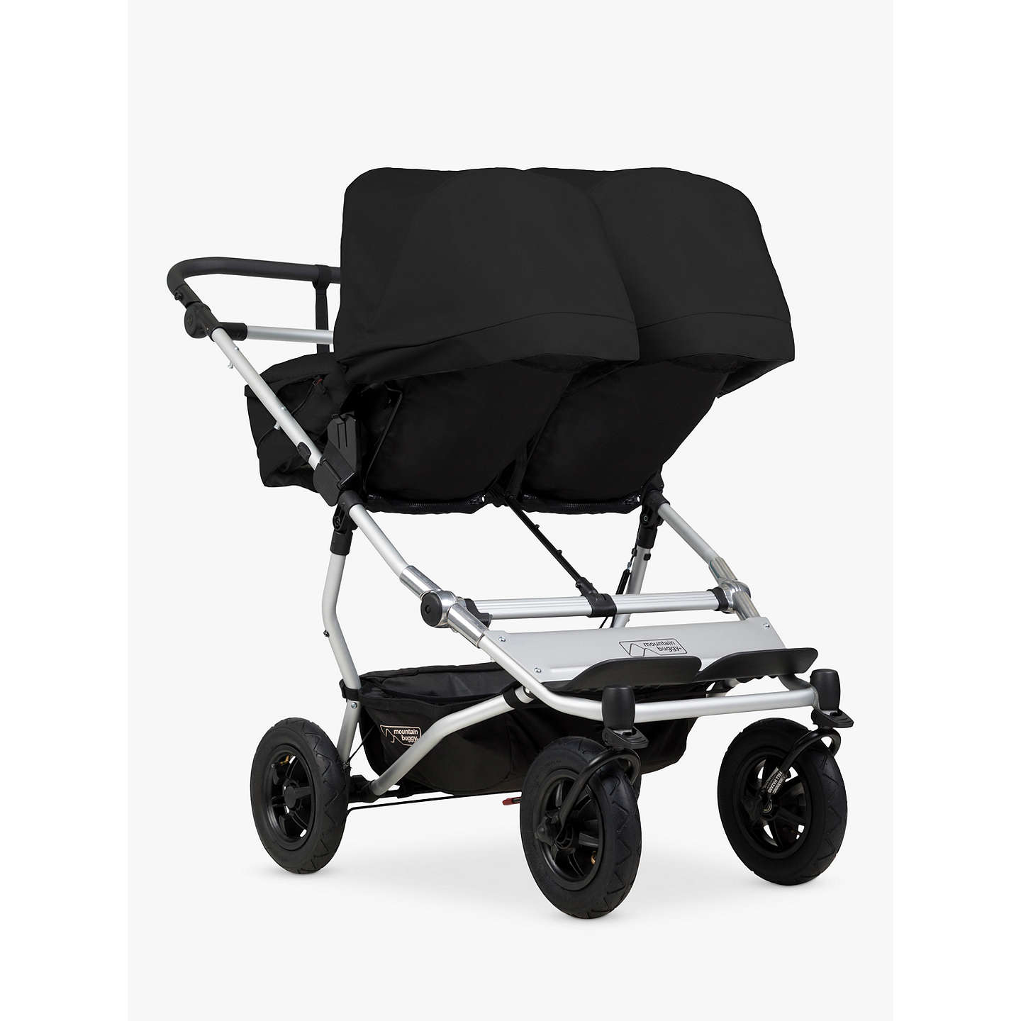 BuyMountain Buggy Duet V3 Pushchair, Black Online at johnlewis.com