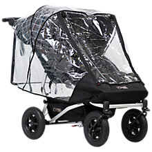 Buy Mountain Buggy Duet Double Storm Cover Online at johnlewis.com