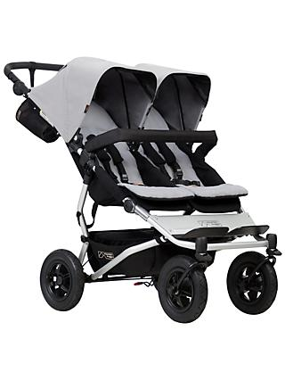 Mountain Buggy Duet V3 Pushchair, Silver