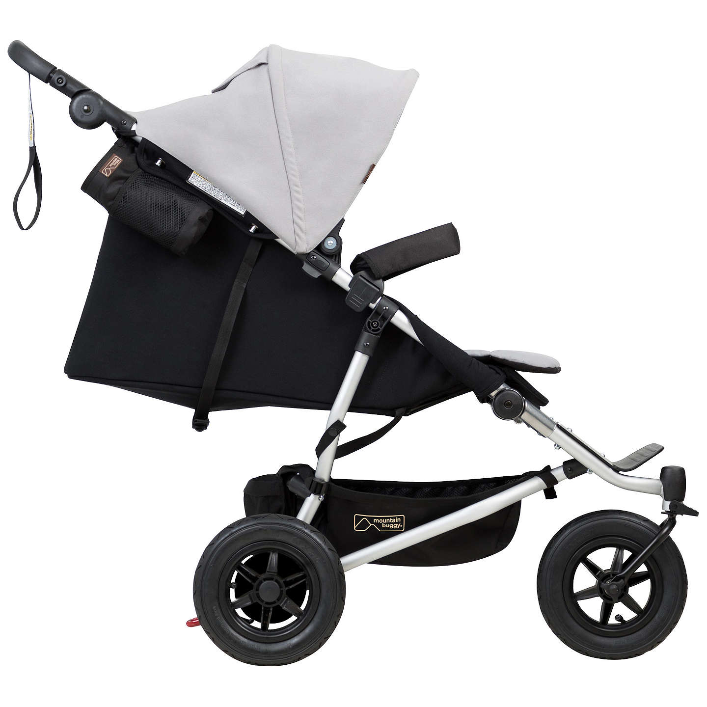 BuyMountain Buggy Duet V3 Pushchair, Silver Online at johnlewis.com