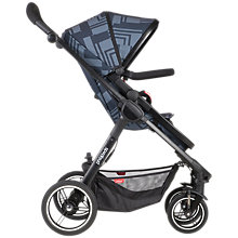 Buy Phil & Teds Mod Stroller, Noir Online at johnlewis.com