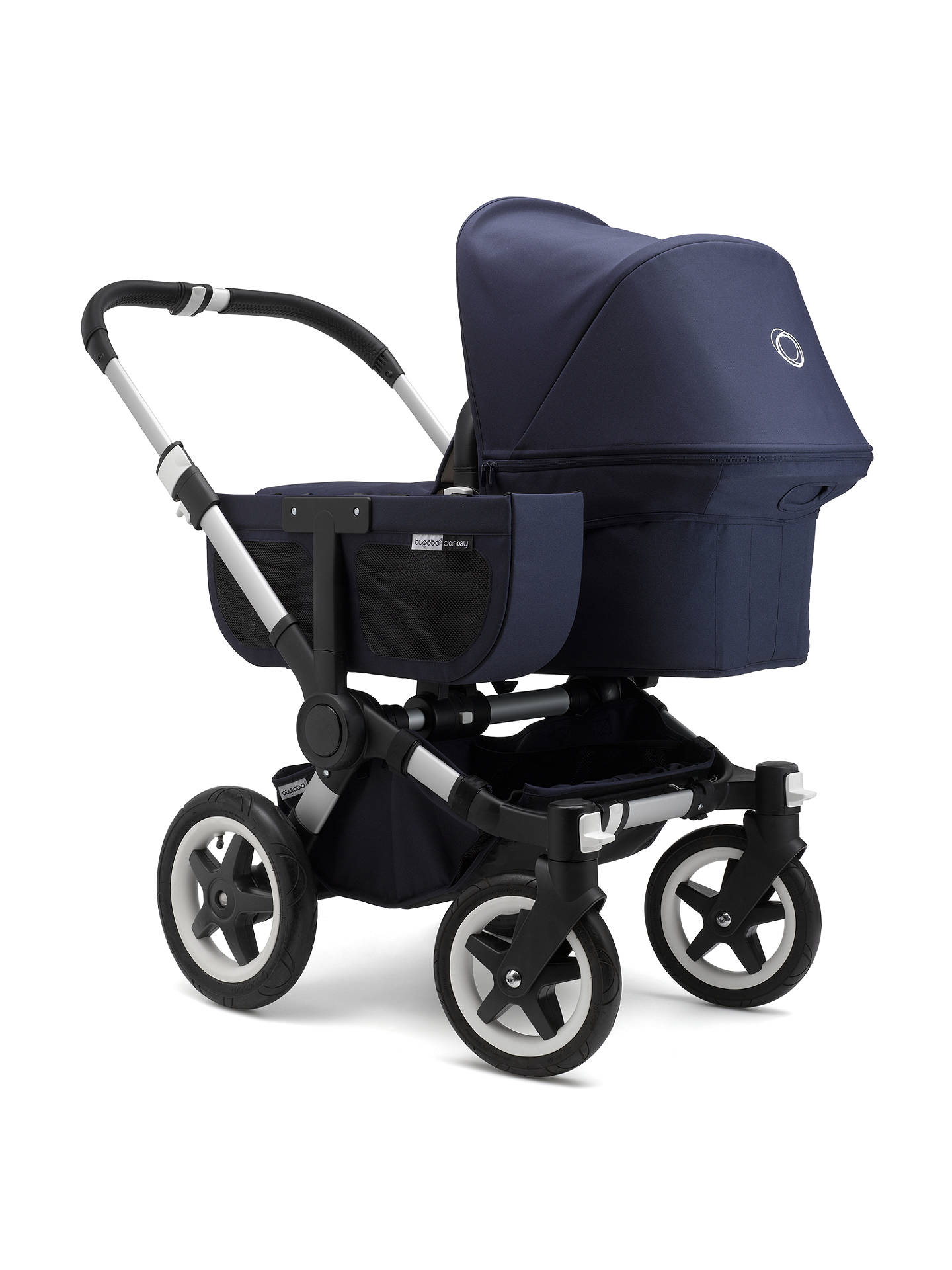 BuyBugaboo Donkey Classic+ Mono Complete Pushchair, Navy Online at johnlewis.com