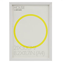 Buy House by John Lewis MDF Wrap Photo Frame, A4 (30 x 21cm) Online at johnlewis.com