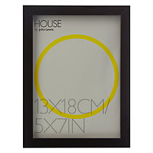 "Buy House by John Lewis MDF Wrap Photo Frame, 5 x 7"" (13 x 18cm) Online at johnlewis.com"