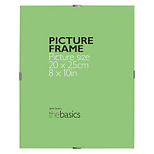 "Buy John Lewis The Basics Clip Frame, 8 x 10"" (20 x 25cm), Pack of 2 Online at johnlewis.com"