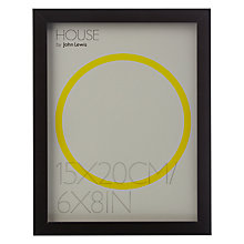 "Buy House by John Lewis MDF Wrap Photo Frame, 6 x 8"" (15 x 20cm) Online at johnlewis.com"