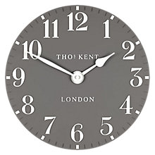 Buy Thomas Kent Cotswold Wall Clock, Dia.30cm, Grey Online at johnlewis.com