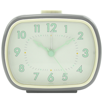 London Clock Company Retro Rectangle Alarm