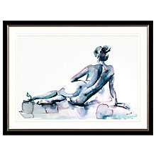 Buy Aimee Del Valle - Chantelle Framed Print, 107 x 81cm Online at johnlewis.com