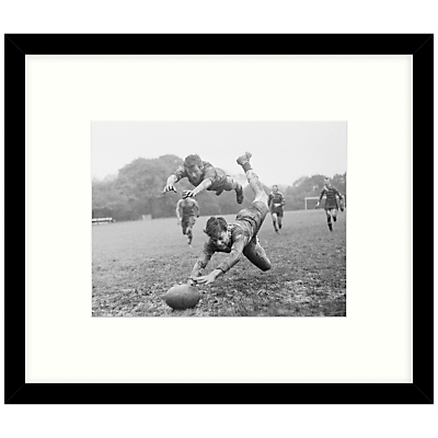 Getty Images Gallery – It's A Try Framed Print, 49 x 57cm