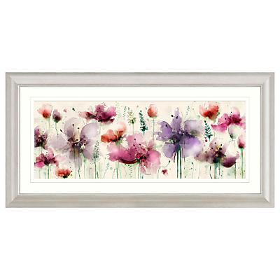 Green Lili – Floral Splendour Framed Print, 110.5 x W56.5cm