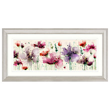 Buy Green Lili - Floral Splendour Framed Print, 110.5 x W56.5cm Online at johnlewis.com