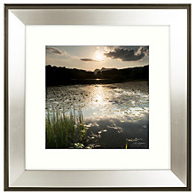 Buy Mike Shepherd - Lakeland Lillies 1 Framed Print, 51 x 51cm Online at johnlewis.com