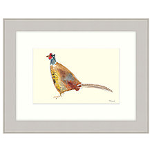 Buy Mimi Emmet - Golden Pheasant Framed Print, 47 x 37cm Online at johnlewis.com