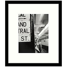Buy Getty Images Gallery - Marilyn In Central Station Framed Print, 49 x 57cm Online at johnlewis.com