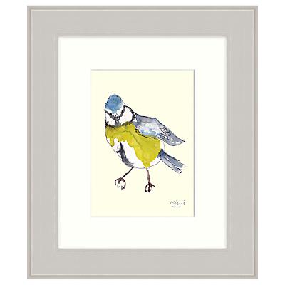 Mimi Emmett – Blue Tit Framed Print, 31 x 37cm