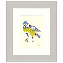 Buy Mimi Emmet - Blue Tit Framed Print, 31 x 37cm Online at johnlewis.com