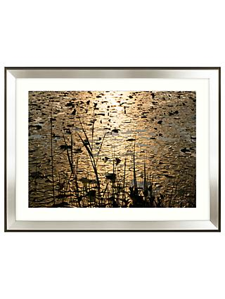 Mike Shepherd - Lillies Embellished Framed Print, 111 x 85cm