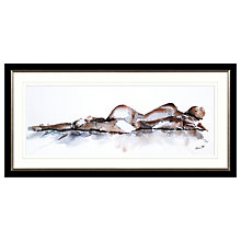 Buy Aimee Del Valle - Dormir Framed Print, 107 x 52cm Online at johnlewis.com