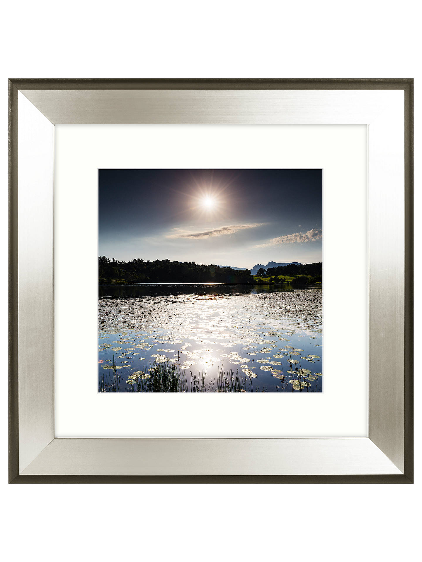 Buy Mike Shepherd - Blue Skies Embellished Framed Print, 51 x 51cm Online at johnlewis.com