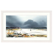 Buy Elizabeth Baldin - Anchored Framed Print, 67 x 107cm Online at johnlewis.com