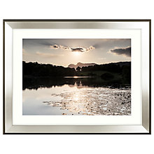 Buy Mike Shepherd - Glistening Waters Framed Print, 91 x 71cm Online at johnlewis.com