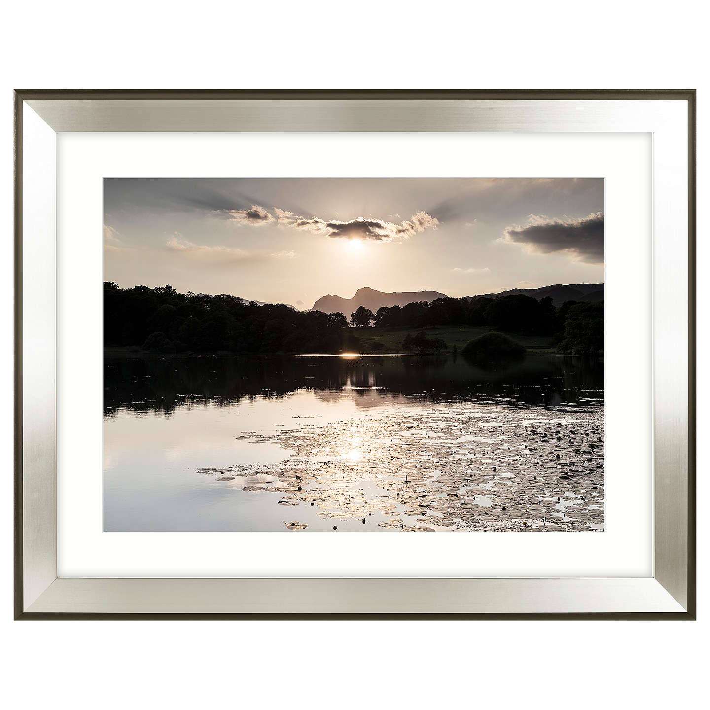 BuyMike Shepherd - Glistening Waters Embellished Framed Print, 91 x 71cm Online at johnlewis.com