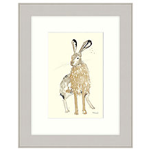 Buy Mimi Emmet - About To Run Framed Print, 47 x 37cm Online at johnlewis.com