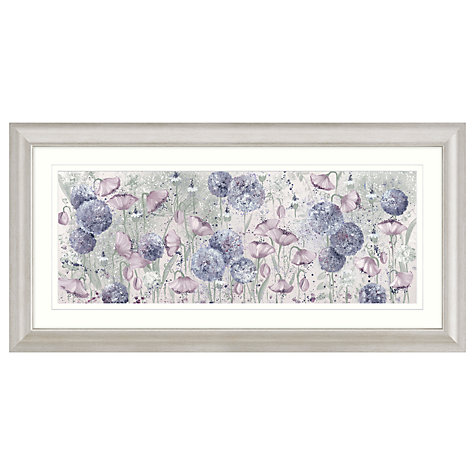 Buy Kaye Lake - Early Morning Meadow Framed Print, 110.5 x 56.5cm Online at johnlewis.com