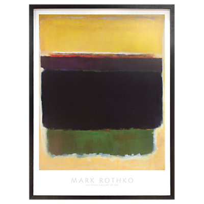 Mark Rothko – Yellow 1949 Framed Print, 89 x 74cm