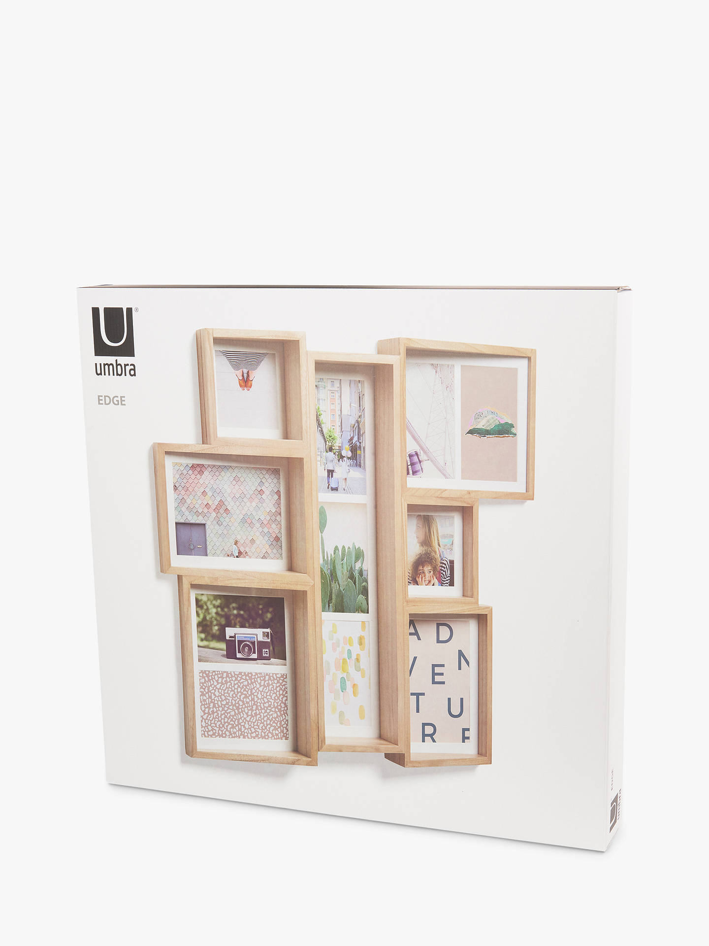 Umbra Edge Multi Photo Frame Display at John Lewis & Partners