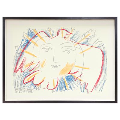 Picasso – Visage De La Paix 1950 Framed Print, 72 x 95cm