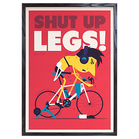 Buy Spencer Wilson - Shut Up Legs Framed Print, 73 x 53cm Online at johnlewis.com