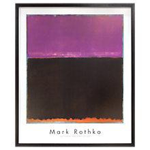 Buy Mark Rothko - Pink 1953 Framed Print, 89 x 74cm Online at johnlewis.com
