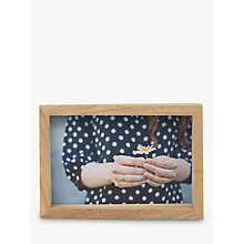 "Buy Umbra Edge Photo Frame,  4 x 6"" (10 x 15cm), Natural Online at johnlewis.com"