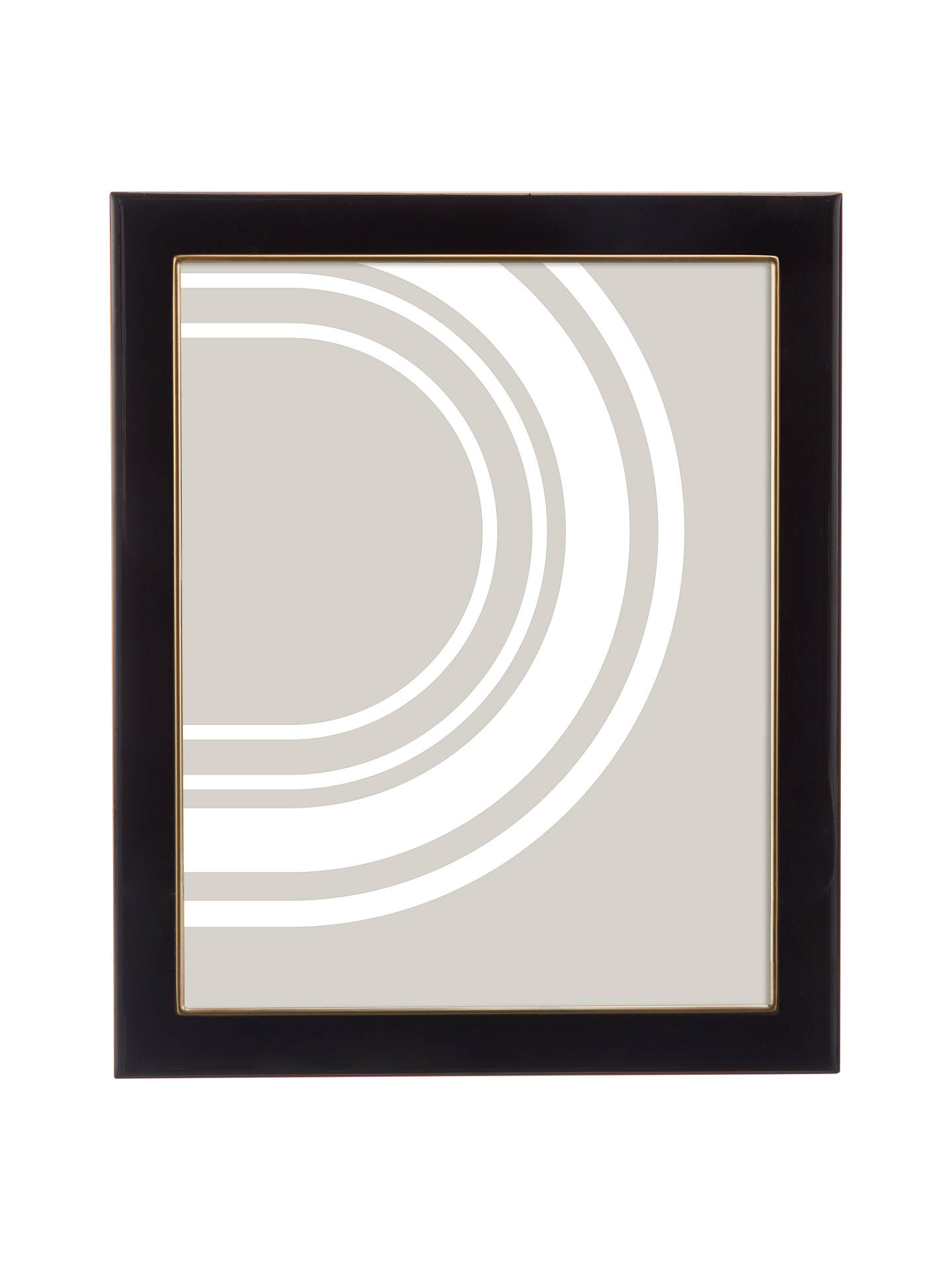 John Lewis Partners Boutique Photo Frame 8 X 10 Black Gold At