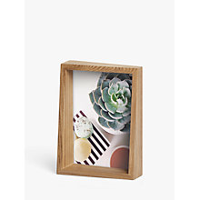 "Buy Umbra Edge Photo Frame,  5 x 7"" (13 x 18cm), Natural Online at johnlewis.com"