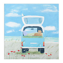 Buy Hannah Cole - Everybody's Surfing Unframed Print, 30 x 40cm Online at johnlewis.com