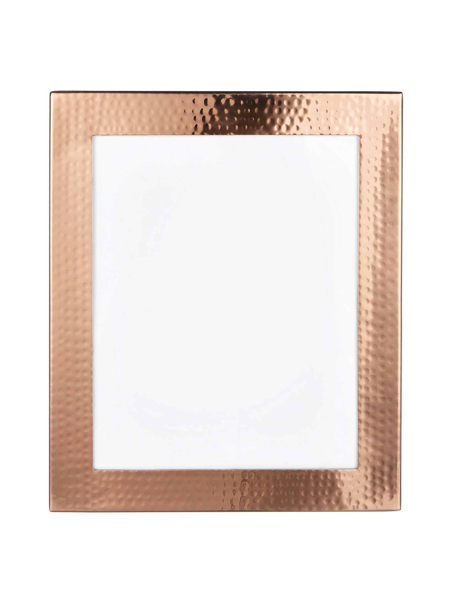John Lewis Hammered Copper Photo Frame, 8 x 10\