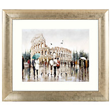 Buy Richard Macneil - Colosseum Rome Framed Print, 72 x 62cm Online at johnlewis.com