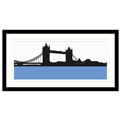 Jacky Al-Samarraie – Tower Bridge Framed Print, 84 x 44cm