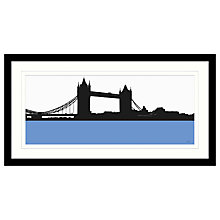 Buy Jacky Al-Samarraie - Tower Bridge Framed Print, 84 x 44cm Online at johnlewis.com