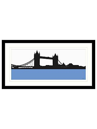 Jacky Al-Samarraie - Tower Bridge Framed Print, 84 x 44cm
