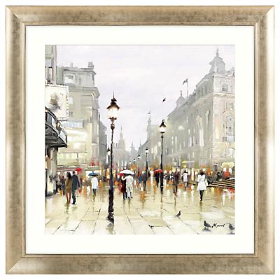 Richard Macneil – City Street Framed Print, 92 x 92cm
