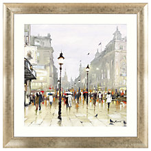 Buy Richard Macneil - City Street Framed Print, 92 x 92cm Online at johnlewis.com