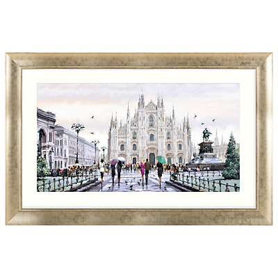 Richard Macneil – Milan Cathedral Framed Print, 112 x 72cm