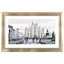 Buy Richard Macneil - Milan Cathedral Framed Print, 112 x 72cm Online at johnlewis.com