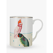 Buy Yvonne Ellen Parrot and Cockatoo Mug, Multi Online at johnlewis.com