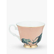 Buy Yvonne Ellen Elephant Teacup and Saucer, Multi Online at johnlewis.com