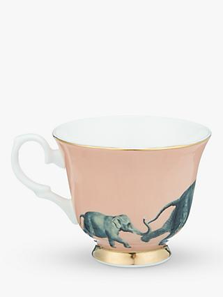 Yvonne Ellen Elephant Tea Cup and Saucer, Multi